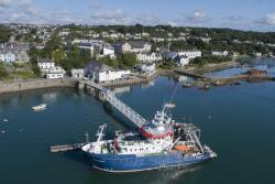 The University's Research Vessel, the Prince Madog.