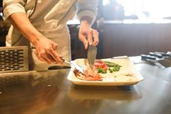 Research reveals what goes on in restaurant kitchens: stock image unreflective of content