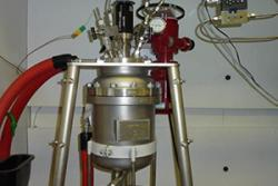 Polymerisation reactor at Biocomposites Centre