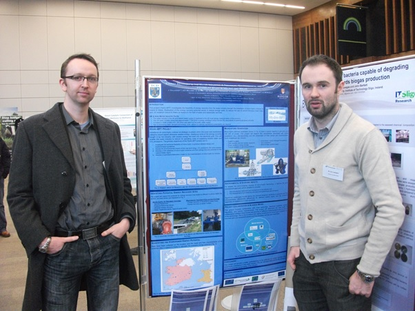 Aonghus & John present Hydro-BPT project at ENVIRON 2013.