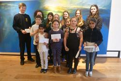 The Art, Poetry and Photography competition winners.
