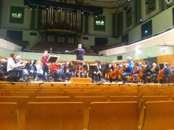 Richard Craig with the RTÉ Orchestra.