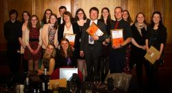 Staff and Students at the Student-Led Teaching Awards: Click on the photograph to see a full-size image