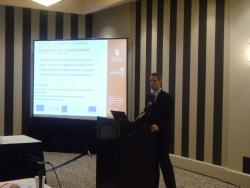 Ceri Evans delivering his paper at the 5th International Public Procurement Conference (IPPC) in Seattle.