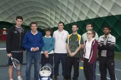 Seb Coe opens Maes Glas Sports Dome