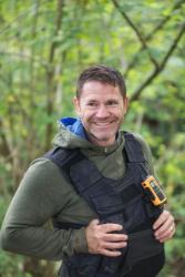 TV presenter and explorer Steve Backshall.