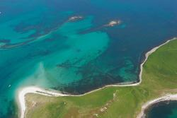 Submerged prehistoric field boundaries, Isles of Scilly. : © Historic England Archive