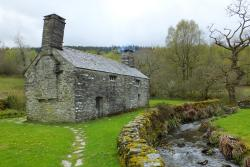 Tŷ Mawr Wybrnant, near Betws y Coed, is home to the first bible translated into Welsh as part of a collection of bibles in over 100 different languages. : © National Trust Images / Iolo Penri Photography