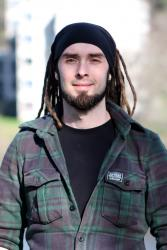 Tom wrote his entire dissertation using solar power, while running the Handa Island nature reserve, in the Inner Hebrides, for the Scottish Wildlife Trust. He worked under the supervision of Professor John Healey.