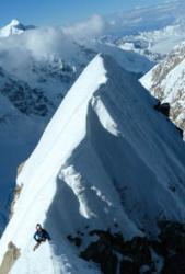 Tom Ripley on the Japanese Couloir
