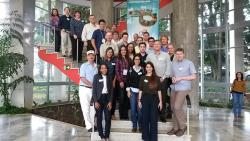 The UK-Brazil NUCLEUS team at the kick-off meeting in Sao Paolo