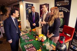 During the Conference, Alun Cairns MP had opportunity to hear about the Ugly Foods project-  a student-run shop which sells supermarket reject fruit and vegetables.