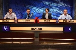 Bangor University's University Challenge Team.