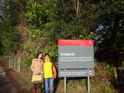 Treborth with Shanshan