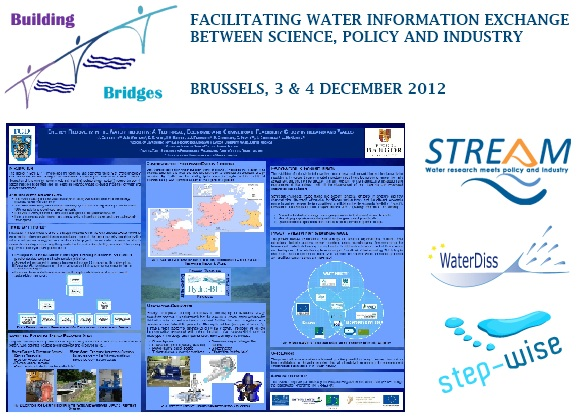 SPI-Water Conference, 3rd & 4th December 2012: Organised by the SPI-Water cluster, which consists of three EC FP7 projects dealing with Science-Policy-Industry Interfacing in Water management: STREAM, WaterDiss2.0 and STEP-WISE.