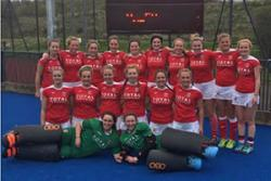 The Welsh Universities Hockey Team