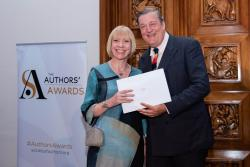 Dr Zoë Skoulding was presented the Awards by actor, Stephen Fry.: Copyright: Adrian Pope Photographer London UK