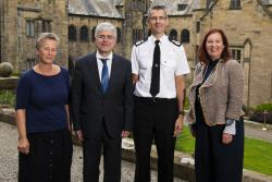 Marking a new educational collaboration between Bangor University and North Wales Police