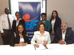 Institute of Banking & Finance of Trinidad and Tobago Signing Ceremony