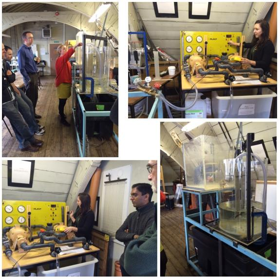 Hydro-BPT experiments: behind the scenes in the hydralics lab