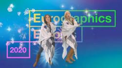 Abba tribute band singing at the Eurographics/Eurovis 2020 virtual conference.