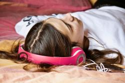 Listening to music on headphones can create 'virtual' space during the current 'lockdown'.