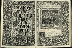 The Story of the Glittering Plain,William Morris 1891