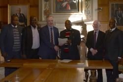 The Chartered Institute of Bankers of Nigeria: Signing Ceremony at Bangor University