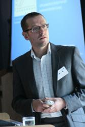 Dr Jeff Kettle addressing the WIN-IPT launch recently