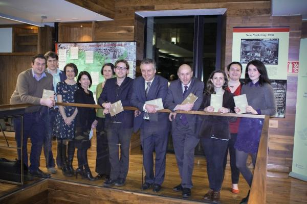 Lucy publishes paper in latest TCD's Journal of Postgraduate Research: Launch of JPR in Trinity College Dublin