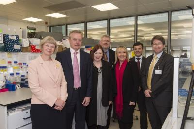 Ser Cymru NRN launch event: Vice-Chancellor of Aberystwyth University Professor April McMahon, Vice-Chancellor of Bangor University Professor John Hughes, Minister for Economy, Science and Transport  Edwina Hart, Director of the NRN for Low Carbon, Energy and the Environment Profess