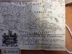 Map from Charles Bertram's Britannicarum Gentium Historiæ Antiquæ Scriptores Tres (1757)