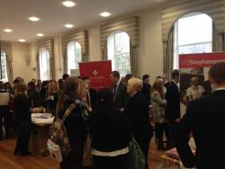 Last year's Law Fair was a huge success with students
