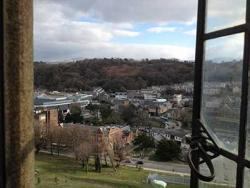 View from Centre for Arthurian Studies