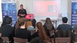 Welsh Women's Rugby Captain and WRU Regional Rugby Coordinator Rachel Taylor